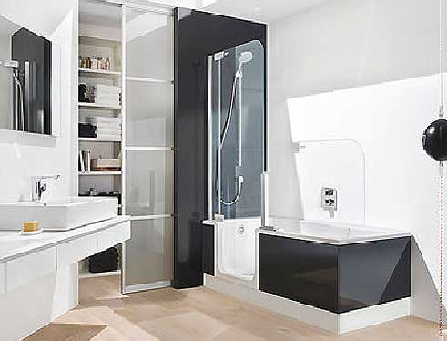 r hle bad und heizung gmbh barrierefreies bad. Black Bedroom Furniture Sets. Home Design Ideas